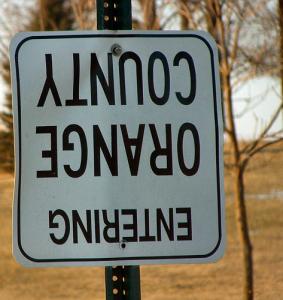Orange County Sign Image