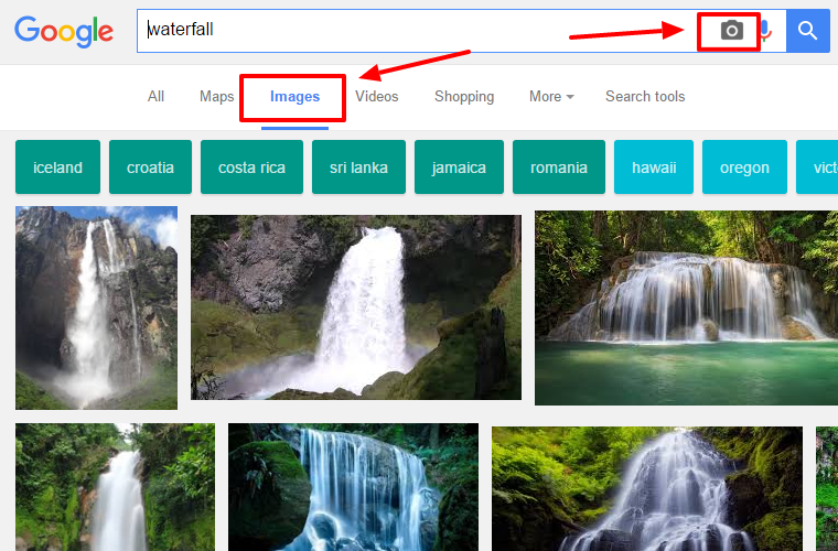Google Tip - how to use google's image search