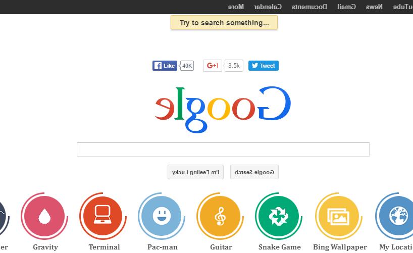 Google's weird stuff - elgoog