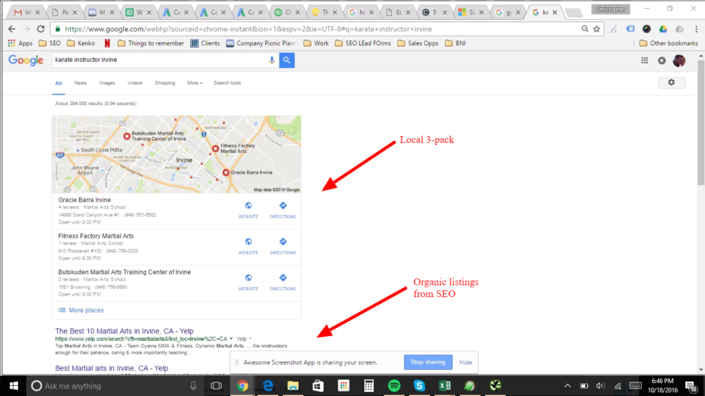 Google Place for Business Local Listing